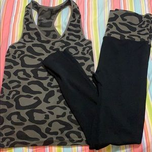 Pants - Leopard Workout set